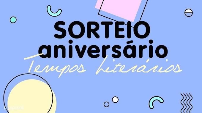 Sorteio de aniversário do blog Tempos Literários