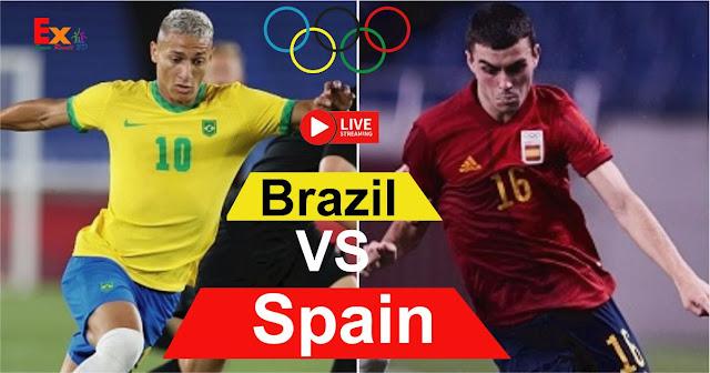 مشاهدة مباراة البرازيل وإسبانيا اليوم بث مباشر