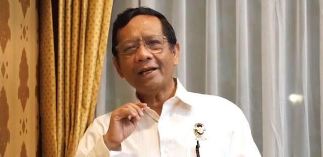 Diminta Klarifikasi Fitnah SBY Dalang Demo, Mahfud Balik Minta Klarifikasi