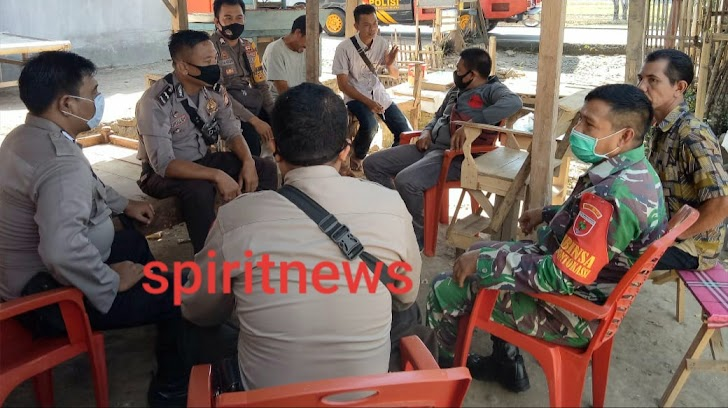 Kerjasama TNI-POLRI Lakukan Kordinasi Terkait Pemagaran Lokasi Warga, Ini Pesannya