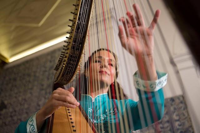Concerto com Helena Madeira em Lagoa abriu primeiro Festival de Harpa do Algarve