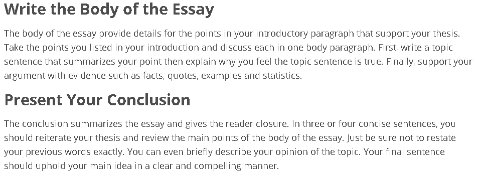 Ib essay to how write an history