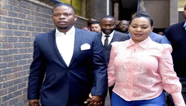 Runaway Malawian pastor, Shepherd Bushiri with his wife Mary photo