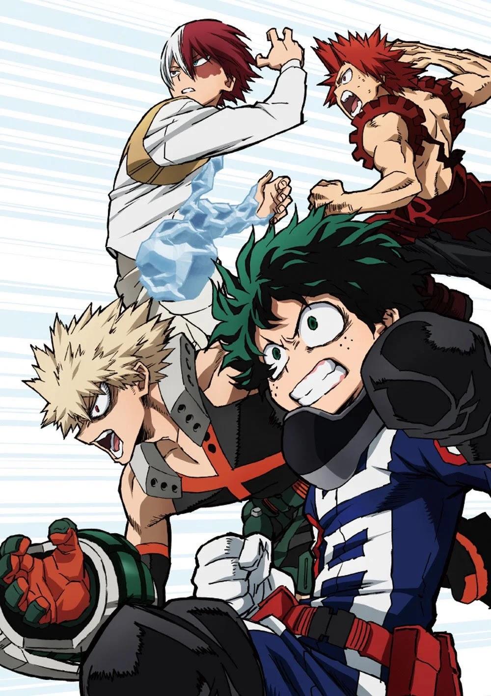A Sexta Temporada de Boku no Hero Academia já está em Produção