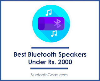 best portable bluetooth speakers under 2000 rupees in India