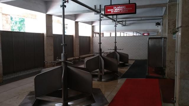 Ruang Wudhu Masjid Istiqlal
