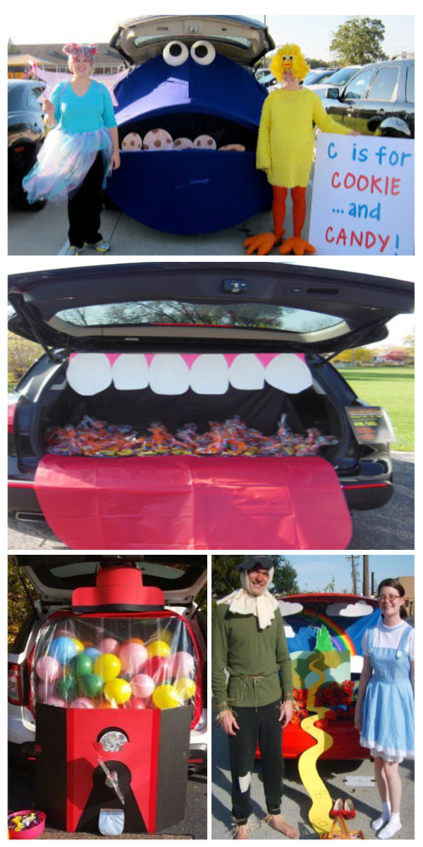 50+ INCREDIBLE trunk decorating ideas for Halloween trunk or treating! #trunkortreat #trunkortreattheme #trunkortreatideasforcarshalloween #trunkortreatideas #trunkdecoratingideas #halloweentrunkortreatideas #halloweenactivities #halloweencrafts #halloween #growingajeweledrose #activitiesforkids