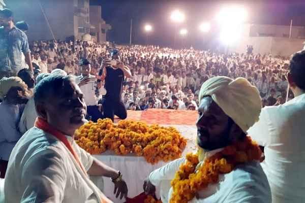 avtar-singh-bhadana-election-prachar-in-hathin-hodal-utawad