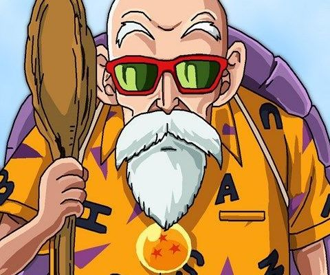 Strong Anime Old Man