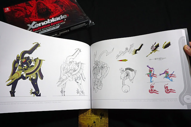DSC01949 - 異域神劍 異度神劍 終極版 遊戲限定版畫集  ゼノブレイド ディフィニティブ・エディション / Xenoblade Definitive Edition / Xenoblade Chronicles: Definitive Edition