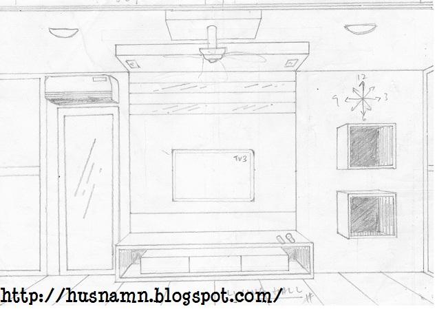 Equilibrium Home Deco Living And Dining Hall Tips Membuat Lakaran Dekorasi Ruang Tamu