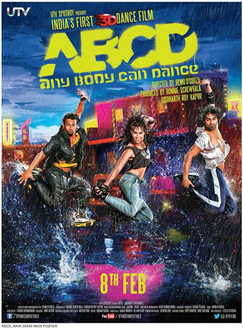 ABCD (Any Body Can Dance) (2013) Hindi Movie Blu-ray 480p 720p