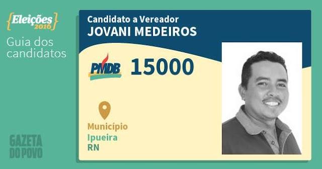 Candidato a vereador, Jovani Medeiros é preso no interior do RN pela Polícia Federal