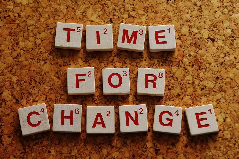 Tiempo para cambiar | Hábitos