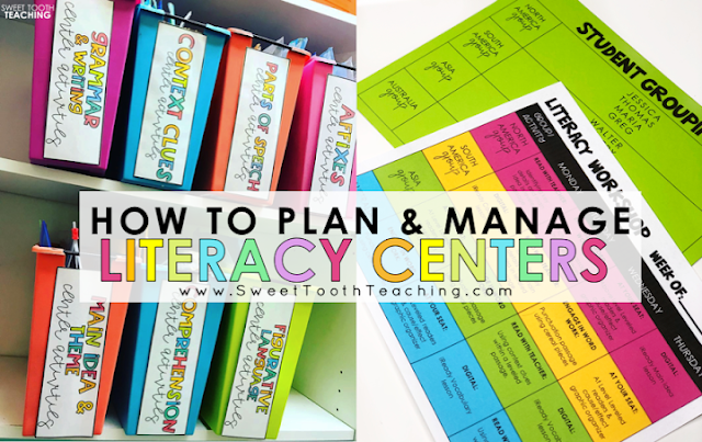 Literacy Centers in the Classroom