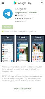 instal telegram untuk android