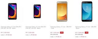 Harga rilis Samsung Galaxy J7 Core