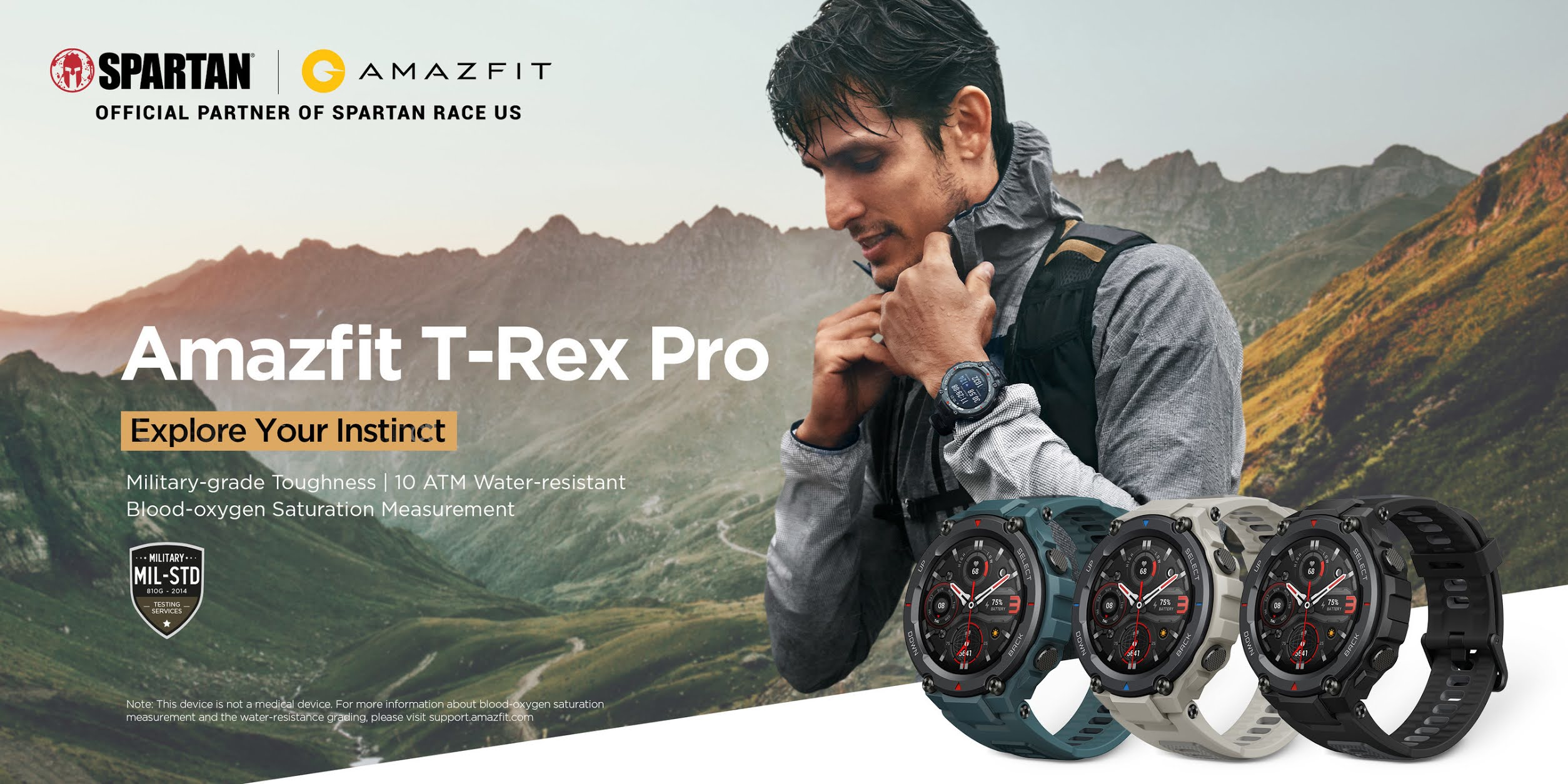 Amazfit T-Rex Pro: A Tough Military-grade Smartwatch