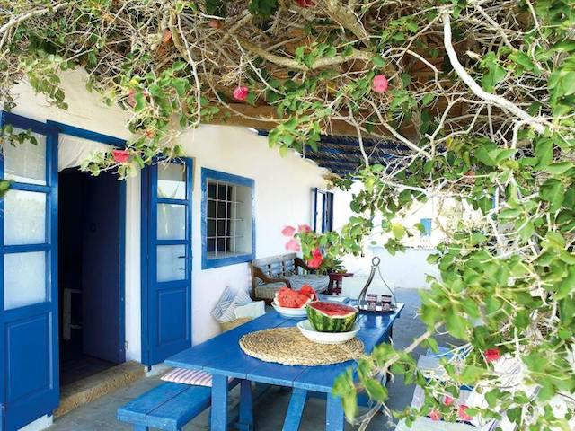 Patio casa Formentera
