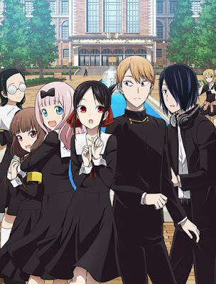Segunda temporada de KAGUYA-SAMA: LOVE IS WAR ganha nova ilustração promocional e data de estreia