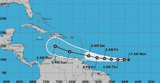 Tormenta 'Gonzalo' no representa peligro para Quintana Roo