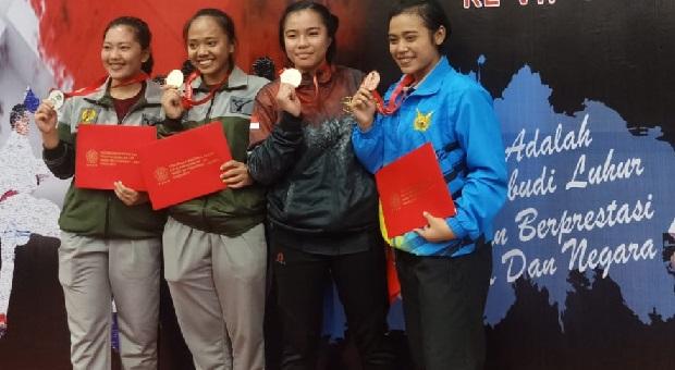 Ini Perolehan Sementara Medali Kejurnas Karate Panglima TNI Ke-VII