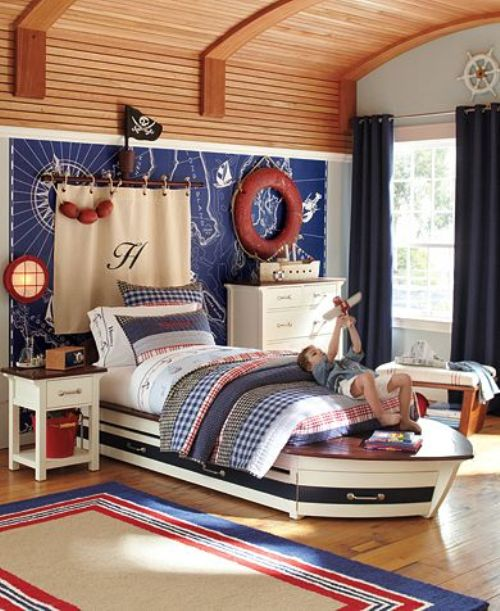 Boat Home Decor: Nautical Theme Home Decorating Ideas