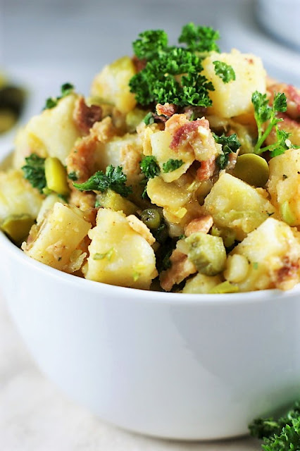 German Potato Salad with Bacon Image