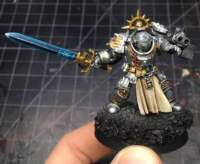 Grey Knights Brotherhood Champion WIP front