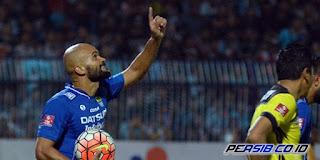 Sergio Van Dijk Masih Absen di Laga Persib vs Sriwijaya FC