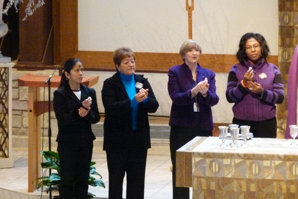 women ministers of communion catholic