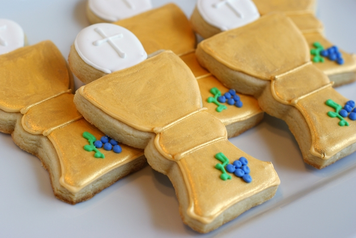 how to make First Communion Cookies