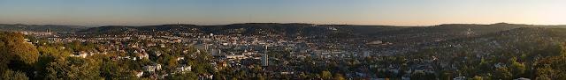 Mirantes e vistas panorâmicas de Stuttgart - Bismarckturm