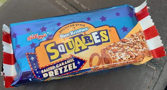 Rice Krispie Squares - Salted Caramel Pretzel