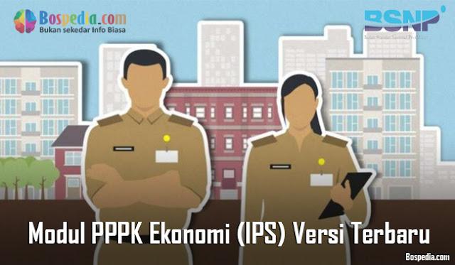 Modul PPPK Ekonomi (IPS) Versi Terbaru