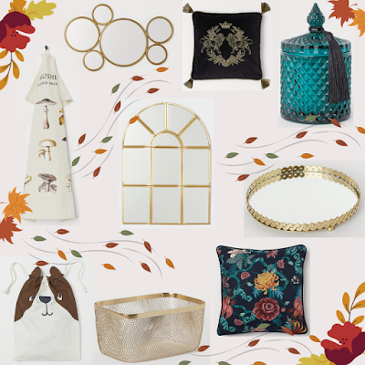 h&m home, zakupy, dekoracyjne dodatki, zestaw, whislista jesień