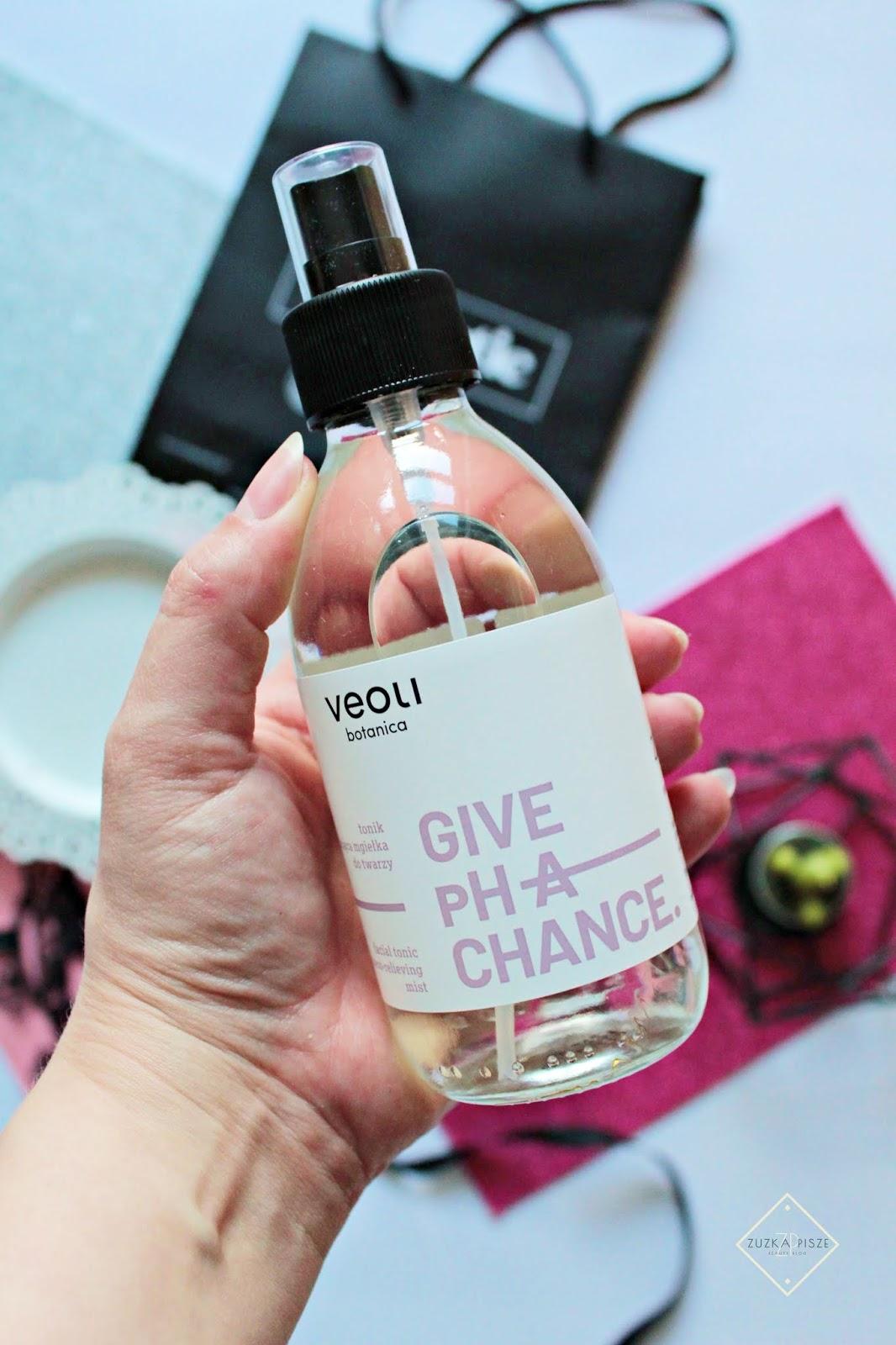 Veoli Botanica, Give pH A Chance - tonik - kojąca mgiełka do twarzy