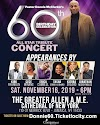TALENT ANNOUNCED for Donnie McClurkin's 60th Birthday Celebration! All Star tribute Concert