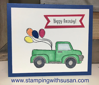 Stampin' Up!, Ride With Me, www.stampingwithsusan.com, Susan LaCroix, 2018-2020 In Colors,
