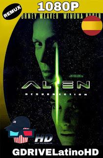 Alien Resurrección (1997)[CAS] BDREMUX 1080P MKV