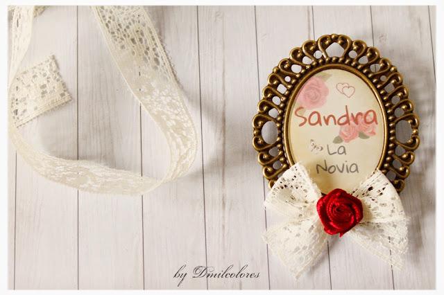 broche detalle de bodas