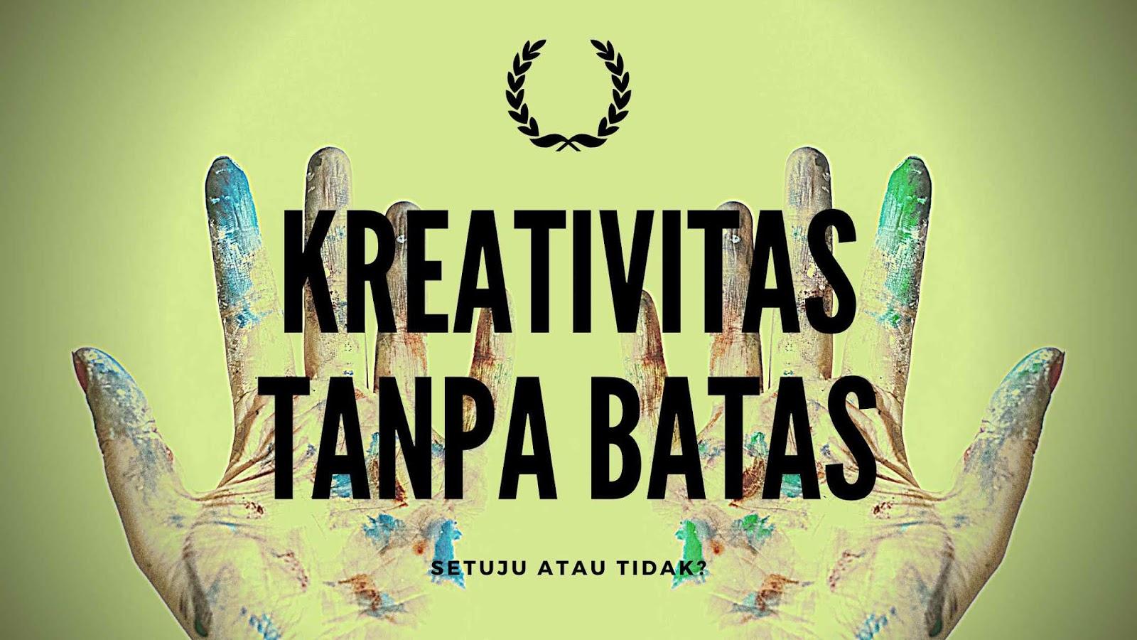 Kreativitas tanpa batas
