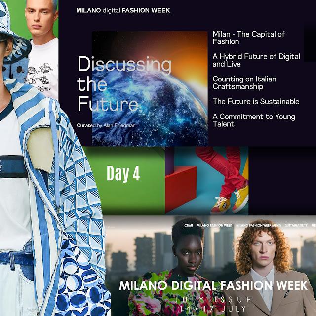 Milan Digital Fashion Week 2020 Day 3