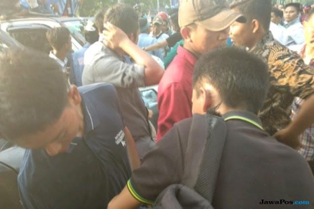 Demo Hari Tani di Riau Ricuh, Tiga Mahasiswa Terluka