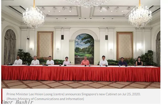 Prime Minister Lee Hsien Loong broadcasts new Cabinet; Ong Ye Kung, Lawrence Wong gave new portfolios