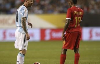 O 5 a 0 que marcou a classificação Argentina diante do Panamá