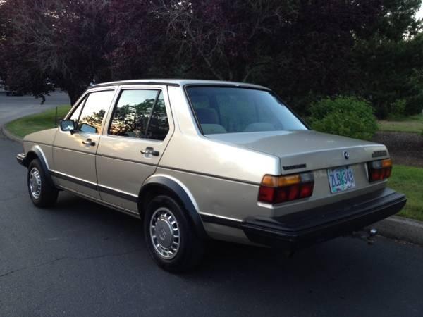 Very Clean 1984 VW Jetta MK1 Turbo Diesel - Buy Classic Volks