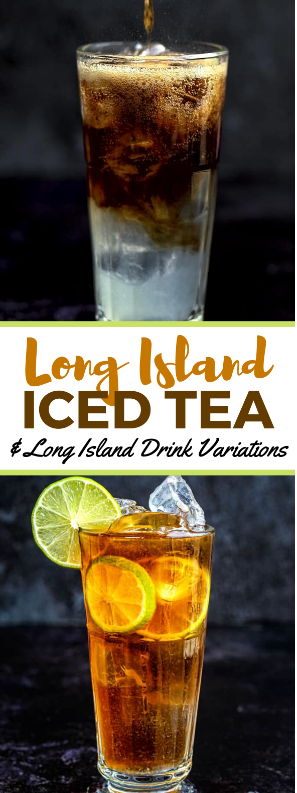 LONG ISLAND ICED TEA & LONG ISLAND DRINK VARIATIONS #drinks #vodka