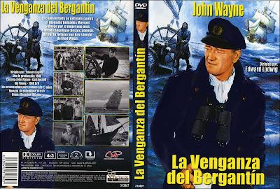 Cine clásico, cover, caratula, dvd: La venganza del bergantín | 1948 | Wake of the Red Witch