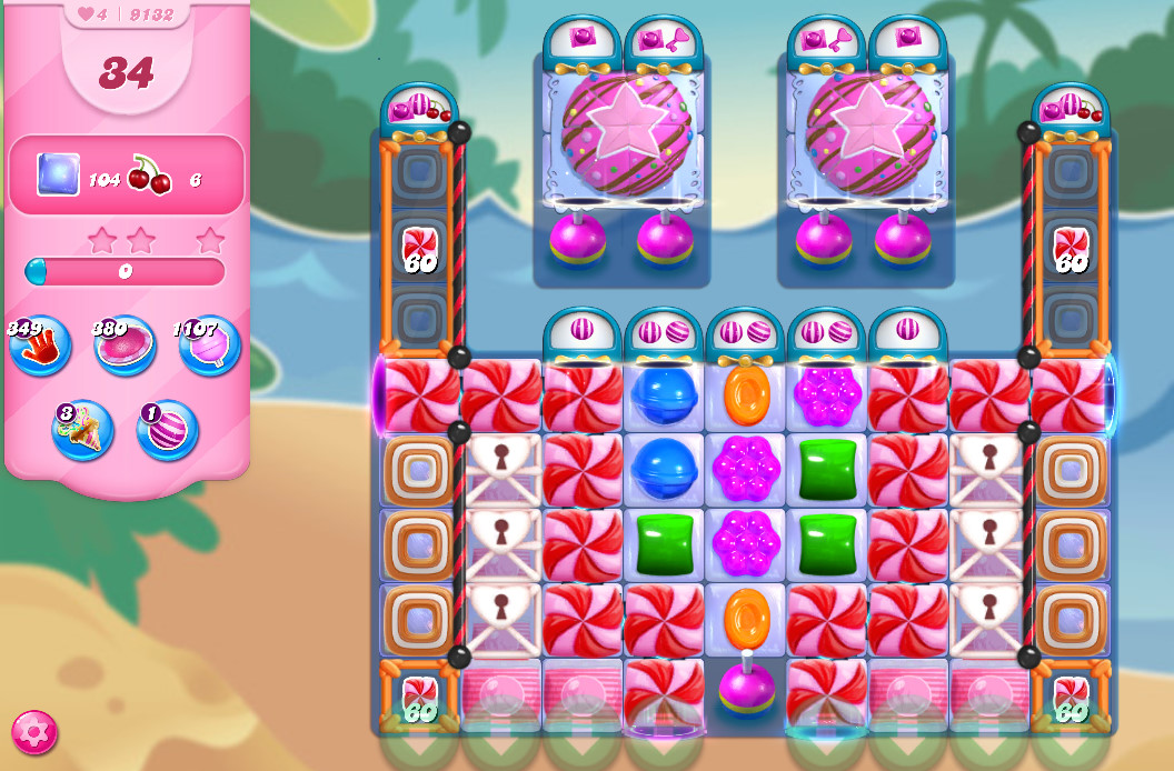 Candy Crush Saga level 9132